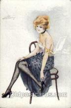 art044137 - Artist Suzanne Meunier Postcard Post Card