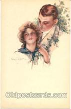 art046004 - Artist C. Monestier (Italy) Postcard Post Card