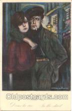 art047029 - Artist Giovanni Nanni Postcard Post Card