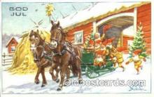 Artist Curt Nystrom (Sweeden) Postcard Post Card