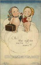 art053014 - Rose O'Neill, pop out Kewpies Postcard Post Card