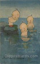 Rose ONeill, pop out Kewpies Postcard Post Card