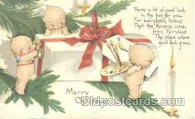 Artist Rosie ONeill, Chickens Kewpie Postcard Post Card