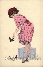 art058025 - Artist Pepin Postcard Post Card