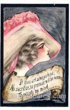 art071115 - Artist Signed Cobb Shinn or Tom Yad (United States) Postcard Post Card