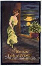 art071119 - Artist Signed Cobb Shinn or Tom Yad (United States) Postcard Post Card