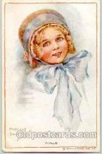 art074003 - Artist Signed Amy Millicent Sowerby (Great Britain) Postcard Post Card