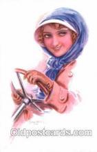 art084067 - series 351/6 Artist Lottie Usabel (Italian) Postcard Post Card