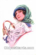 art084068 - series 351/5 Artist Lottie Usabel (Italian) Postcard Post Card