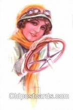 art084071 - series 351/2 Artist Lottie Usabel (Italian) Postcard Post Card