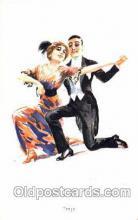 art084085 - series 1256 Artist Lottie Usabel (Italian) Postcard Post Card
