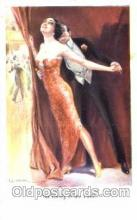 art084093 - series 1067 Artist Lottie Usabel (Italian) Postcard Post Card