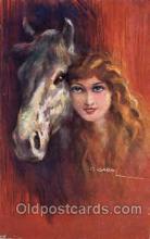series 1201 Artist Lottie Usabel (Italian) Postcard Post Card