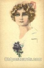 art084136 - Artist Lottie Usaba (Italy) Postcard Post Card