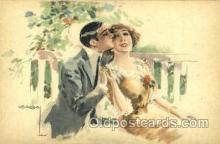 art084158 - Artist Lottie Usaba (Italy) Postcard Post Card