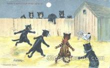 art085081 - Artist Louis Wain Cat Cats Postcard Post Card