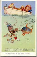 art089002 - Artist Signed Lawson Wood (Great Britain) Postcard Post Card