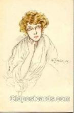 art090003 - Artist Signed Adelina Zandrino (Italy) Postcard Post Card