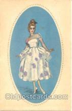 art090014 - Artist Signed Adelina Zandrino (Italy) Postcard Post Card