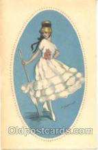 art090015 - Artist Signed Adelina Zandrino (Italy) Postcard Post Card