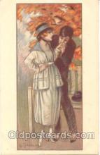 art090016 - Artist Signed Adelina Zandrino (Italy) Postcard Post Card