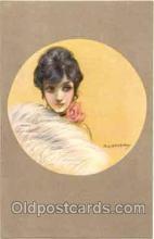 art090018 - Artist Signed Adelina Zandrino (Italy) Postcard Post Card