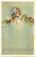 art090021 - Artist Signed Adelina Zandrino (Italy) Postcard Post Card