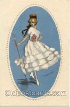 art090026 - Artist Signed Adelina Zandrino (Italy) Postcard Post Card