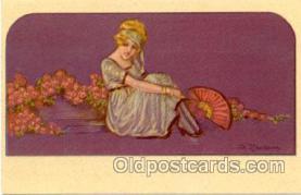 art090028 - Artist Signed Adelina Zandrino (Italy) Postcard Post Card