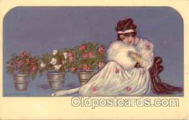 art090030 - Artist Signed Adelina Zandrino (Italy) Postcard Post Card