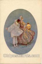 art090031 - Artist Signed Adelina Zandrino (Italy) Postcard Post Card