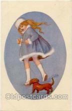 art090036 - Artist Signed Adelina Zandrino (Italy) Postcard Post Card