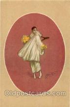 art090037 - Artist Signed Adelina Zandrino (Italy) Postcard Post Card