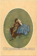 art090039 - Artist Signed Adelina Zandrino (Italy) Postcard Post Card
