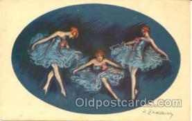 art090046 - Artist Signed Adelina Zandrino (Italy) Postcard Post Card