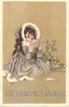 art090053 - Artist Signed Adelina Zandrino (Italy) Postcard Post Card
