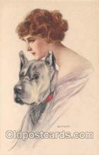 art092028 - Artist Signed Alberto Bianchi (Italy) Postcard Post Card