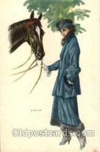 art092034 - Artist Bianchi Postcard Post Card
