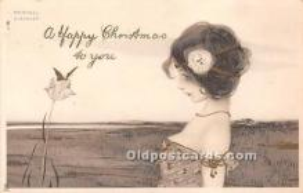 Artist Signed Raphael Kirchner Postcard