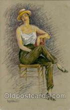 art098006 - Artist Laporte (France) Postcard Post Card