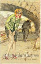 art100068 - Artist Laporte (France) Postcard Post Card