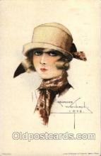art100303 - Artist Georges Wambaack Postcard Post Card