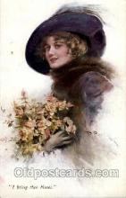 art100356 - Artist R. Pannett Postcard Post Card