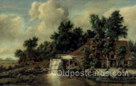 art100479 - Artist Meindert Hobbema Artist Signed Post Card Post Card