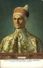 art100490 - Igannes Bellinvs Portrait of the Doge Leonardo Loredano Artist Signed Post Card Post Card