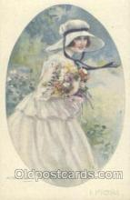 art104088 - Artist Bompard Postcard Post Card