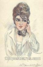 art104098 - Artist Bompard Postcard Post Card