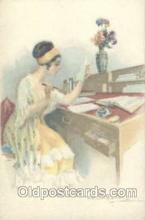 art104104 - Artist Bompard Postcard Post Card