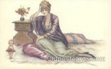 art104120 - Artist Bompard Postcard Post Card