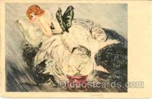 art114004 - Artist Signed Jean Gilley Postcard Post Card